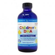 Children DHA Liquido 8oz Nordic naturals